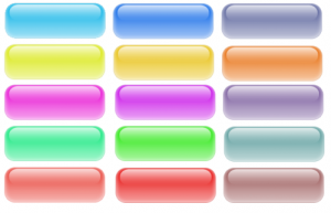 Free Web 2.0 style glossy buttons