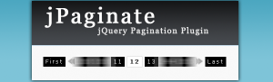jPaginate: A Fancy jQuery Pagination Plugin