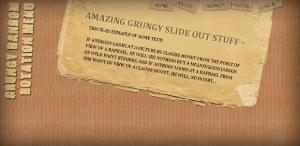 GrungeSlideOut