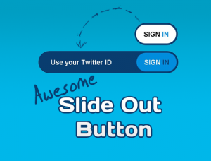 Awesome CSS3 & jQuery Slide Out Button