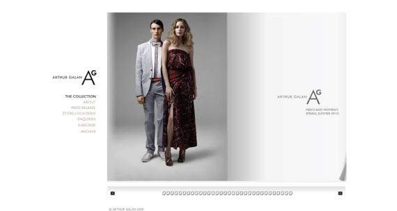 www_agclothing_com_Australian leading men's and women's fashion brand - Arthur Galan AG