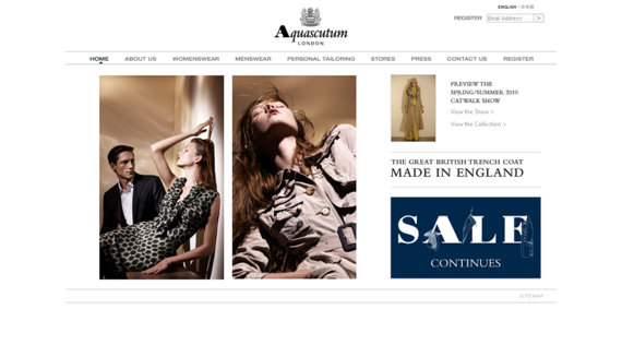 www_aquascutum_co_uk_Understated British Elegance I Aquascutum