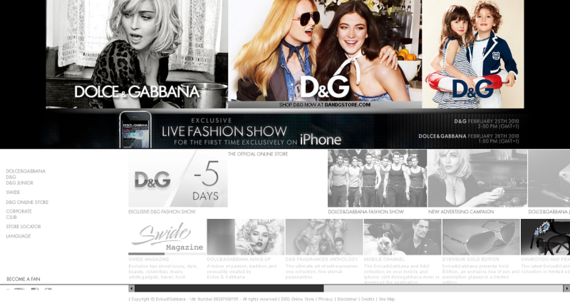 www_dolcegabbana_com_Dolce&Gabbana Official Site - Summer 2010 Collection