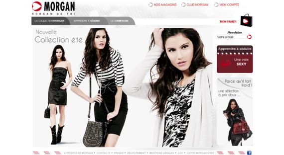 www_morgandetoi_com_Bienvenue sur le site Morgan de toi - Site officiel - Vetement femme