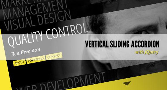 verticalSlidingAccordion