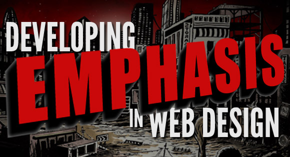 Developing Emphasis in Web Design