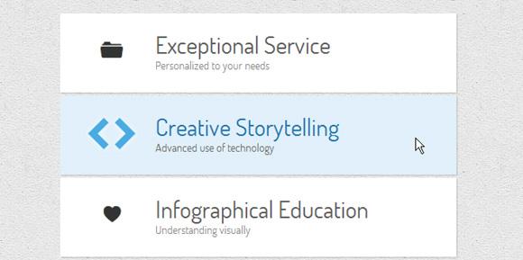 CreativeCSS3Menu_Example2