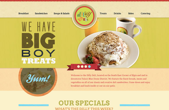 Fresh Examples of Beautiful Typeface Combinations in Web Design