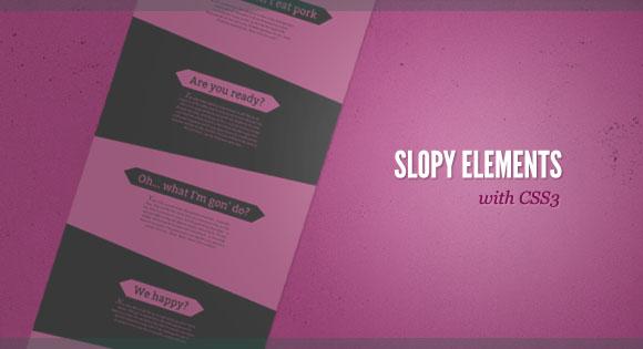 SlopyElements