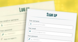 Login and Registration Form with CSS3 and HTML5