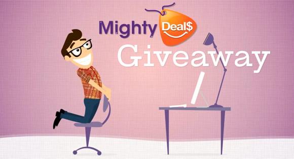 MightyDeals Giveaway