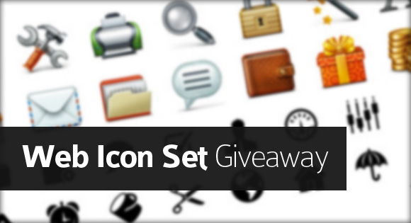 Web Icon Set Giveaway