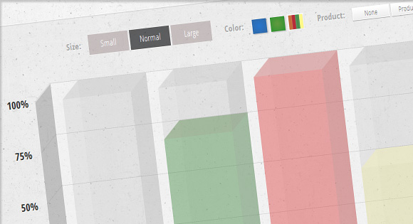 Animated 3D Bar Chart with CSS3