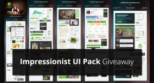 Impressionist UI Pack Giveaway