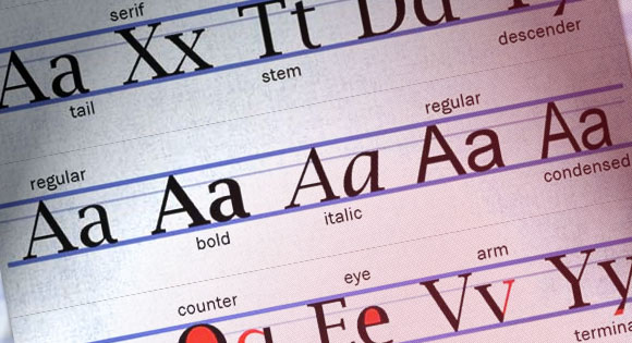 Understanding the Lingo: Typography Glossary
