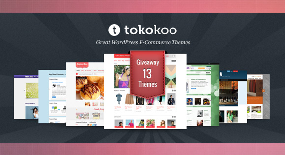 Tokokoo E-Commerce WordPress Themes Giveaway