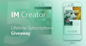 IM Creator Lifetime Subscriptions Giveaway