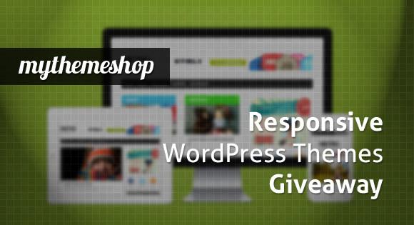 Responsive WordPress Themes Giveaway