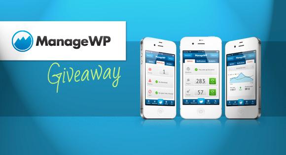 ManageWP Giveaway: Manage Multiple WordPress Websites