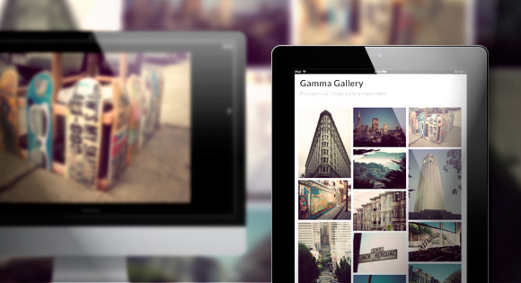 Gamma Gallery: A Responsive Image Gallery Experiment