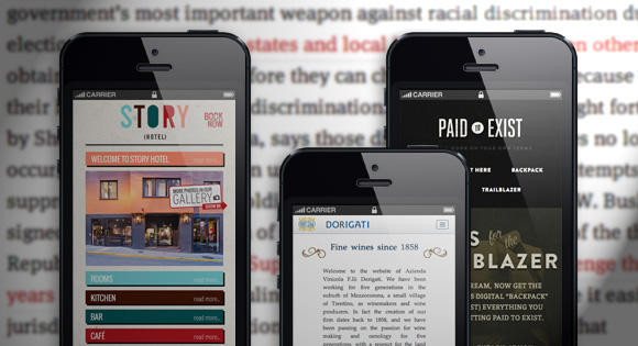 Mobile Design Typography is Vitally Important and Challenging