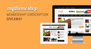 MyThemeShop Membership Subscription Giveaway