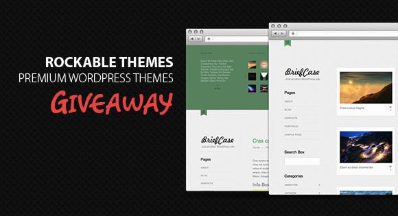 RockableThemes Premium WordPress Themes Giveaway
