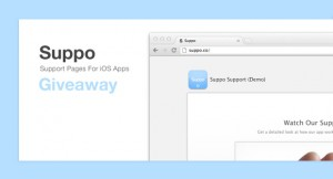 Suppo: iOS App Support Page Giveaway