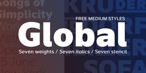 Collective53_GlobalMediumFont