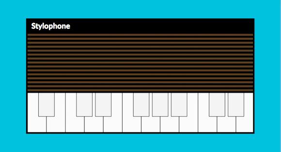Web Audio Stylophone
