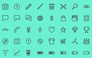 Collective84_lineiconset