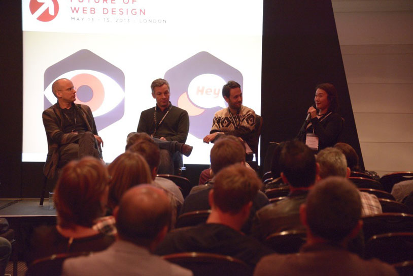 The UX panel chats about ethics, workflow, and other concerns