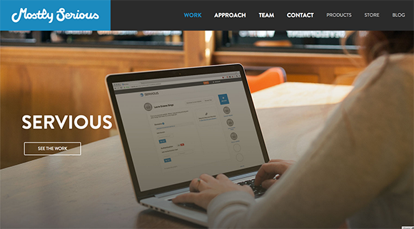 MostlySerious.io is an excellent example of building and maintaining trust and comfort.