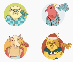Collective108_animalcharacter
