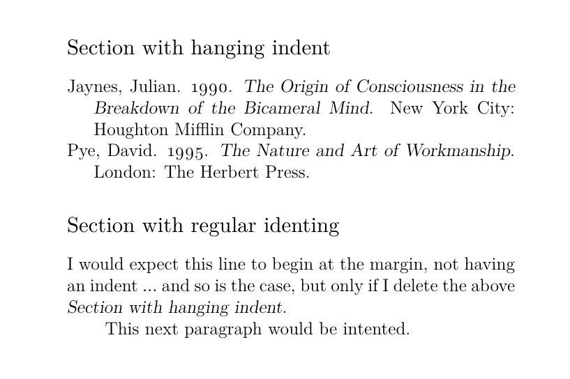 hanging-indent
