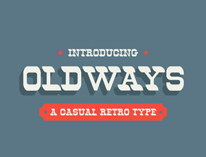 Collective153_OldwaysFont