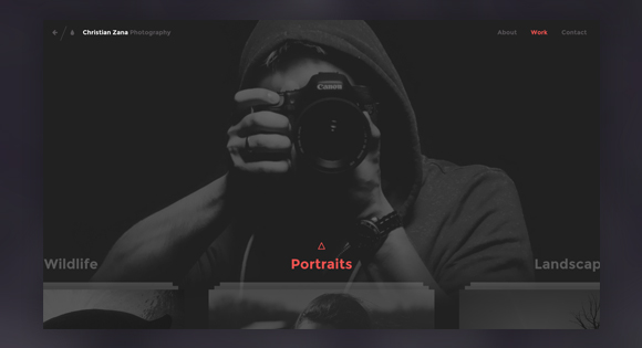 PhotographyWebsiteConcept