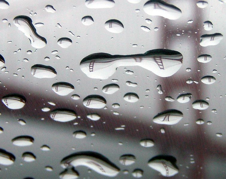 Image credits:  Wikipedia, GGB reflection in raindrop