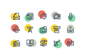Collective196_communicationicons