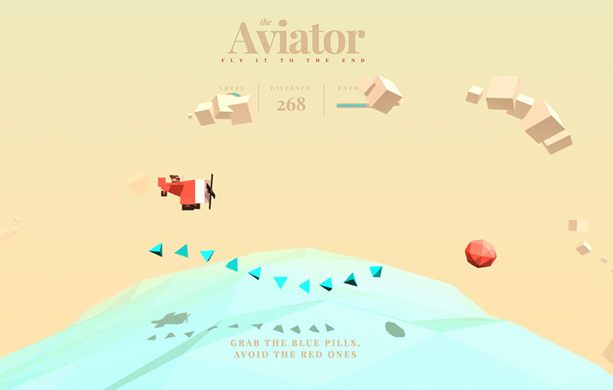 Animated3DScene_TheAviatorGame