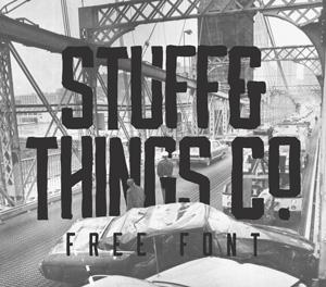 Collective221_StuffnThingscoFreefont