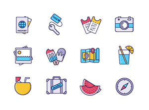 Collective243_VacationIcons