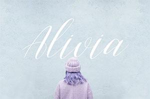 C323_AliviaFont