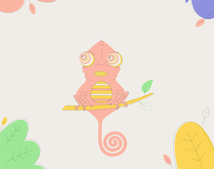 The-Chameleon-from-Null-Island