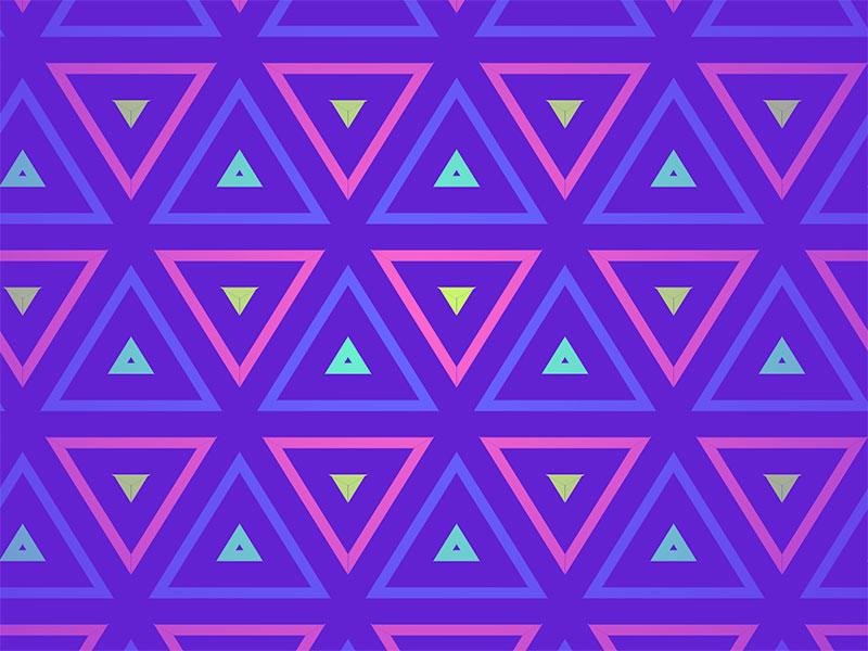 Infinite-SVG-Triangle-Fusion