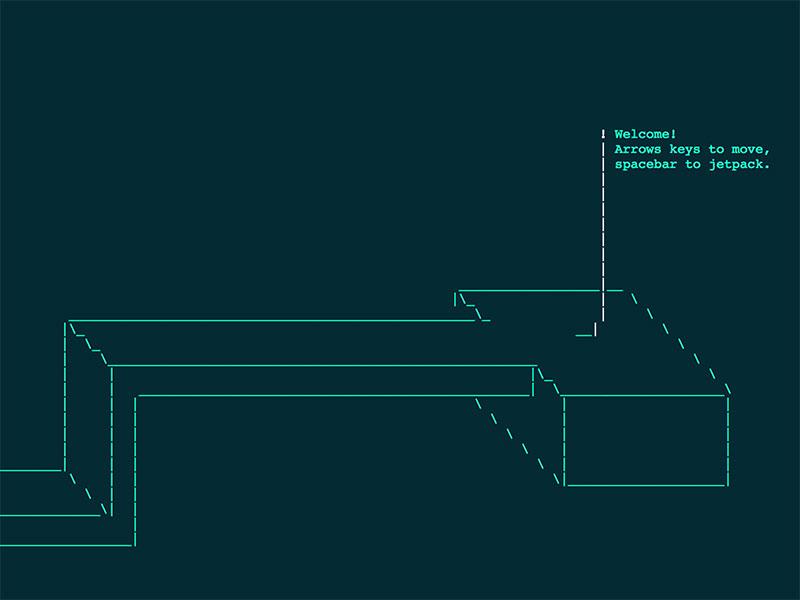 Interactive-3D-ASCII-scenes