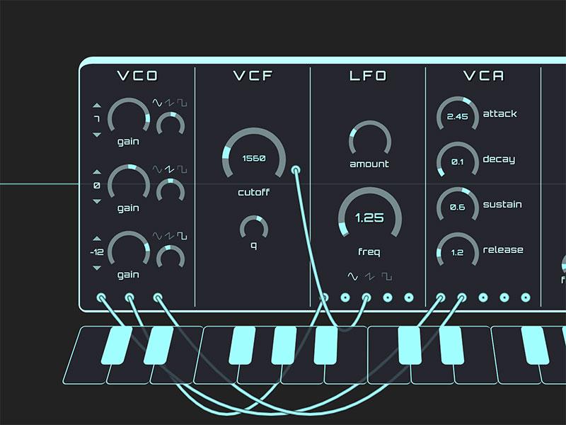 WebAudio-Synth