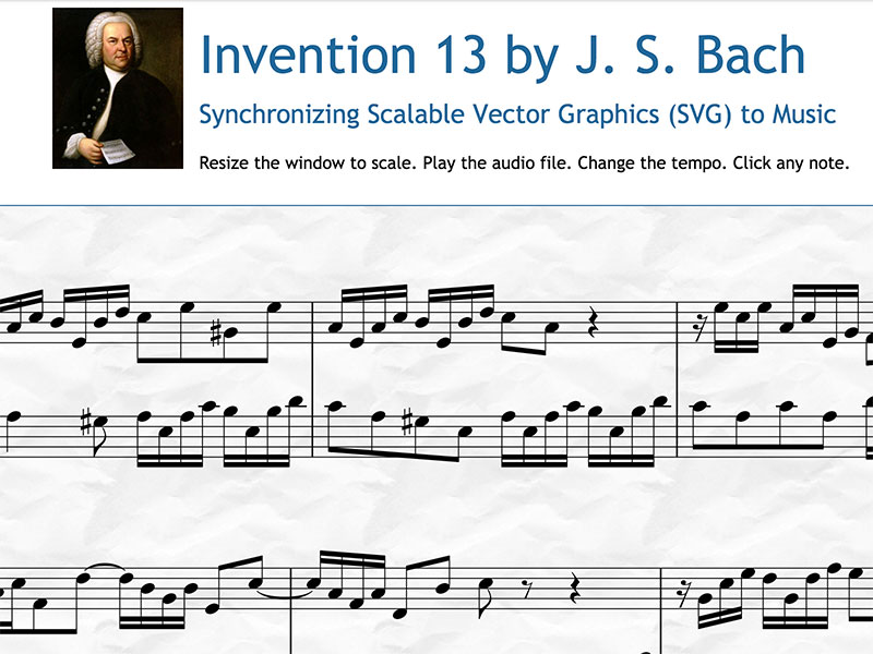 Bach-SVG-Music-Animation