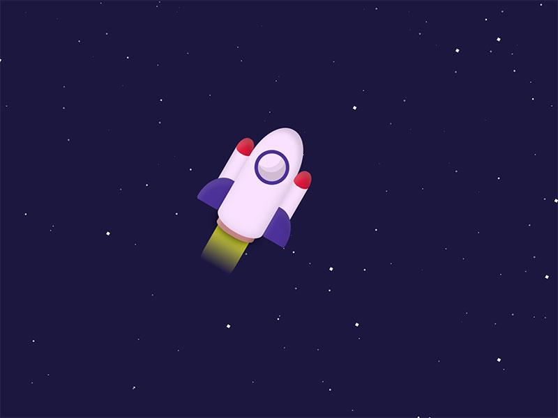Rocket-Through-Space