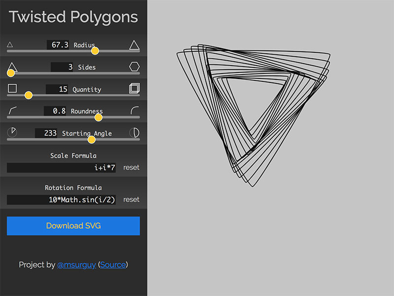TwistedPolygons